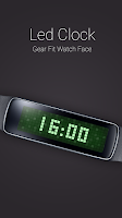 Screenshot of Led Clock for Gear Fit