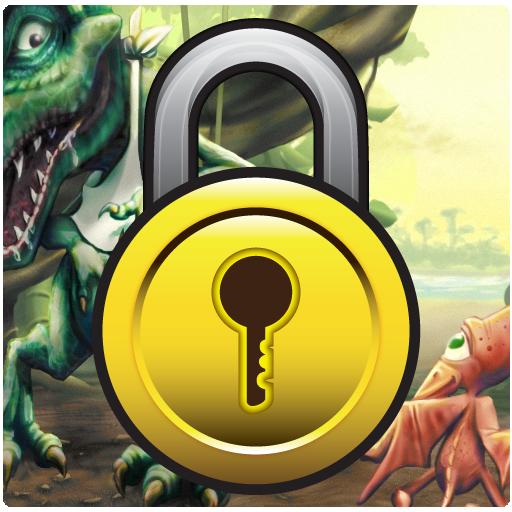 GO鎖屏主題恐龍 個人化 LOGO-玩APPs