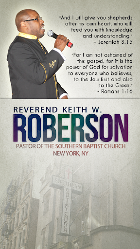Pastor Keith W. Roberson I