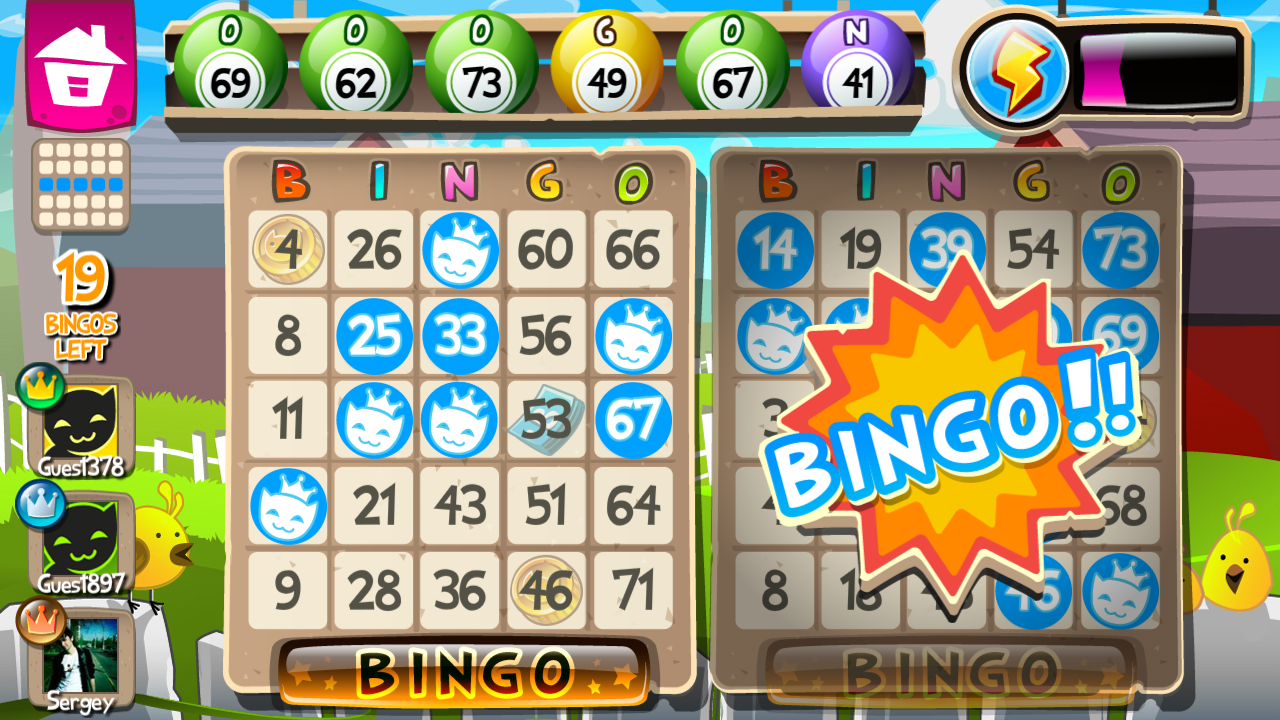 Bingo - screenshot