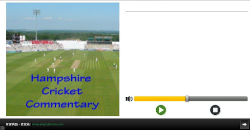 Hampshire Cricket Commentaries