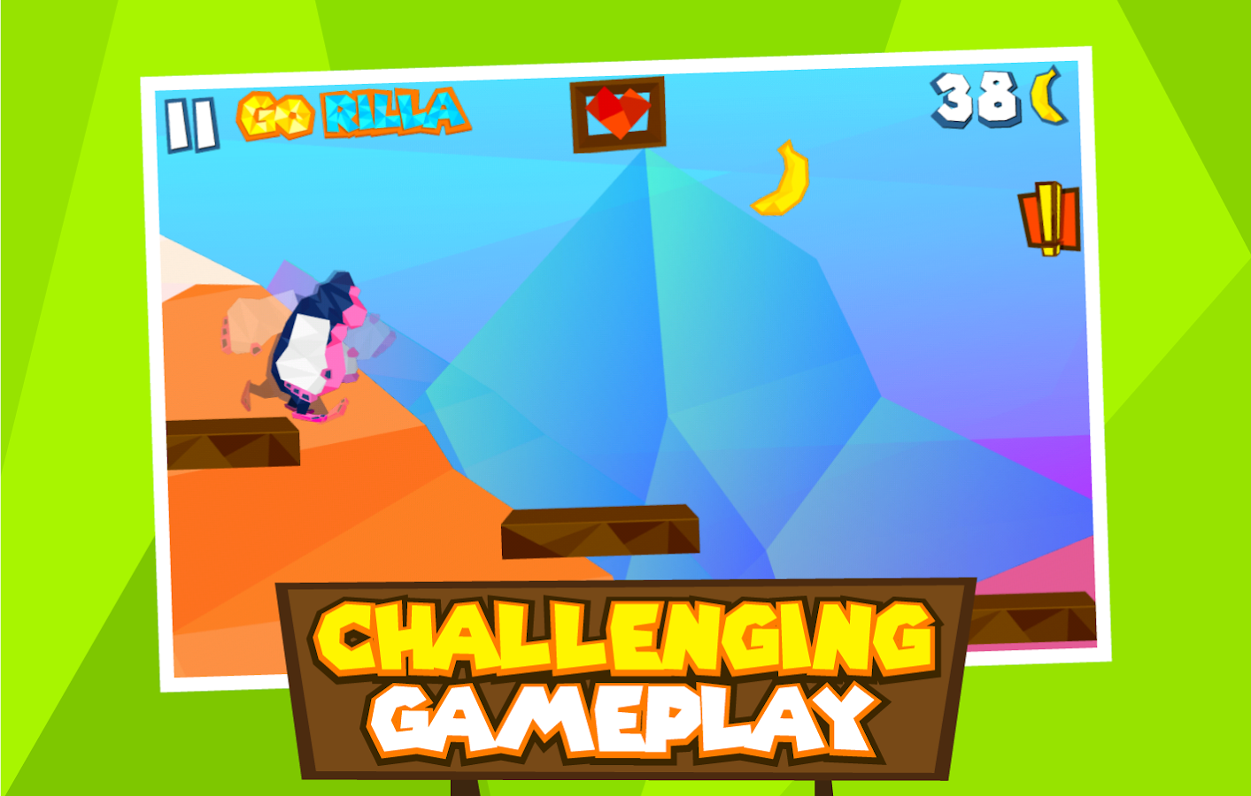 Gorilla Go!- screenshot