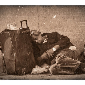 Tough life! by Marko Icelic - People Portraits of Men