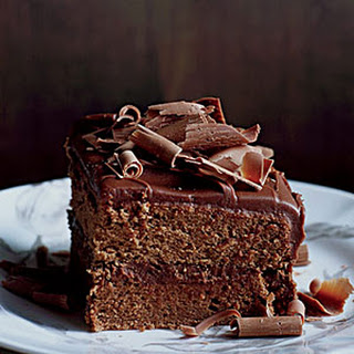 Milk-Chocolate-Frosted Layer Cake Recipe