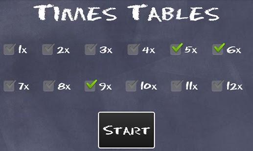 Times Tables- screenshot thumbnail