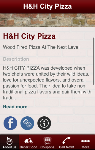 H H City Pizza