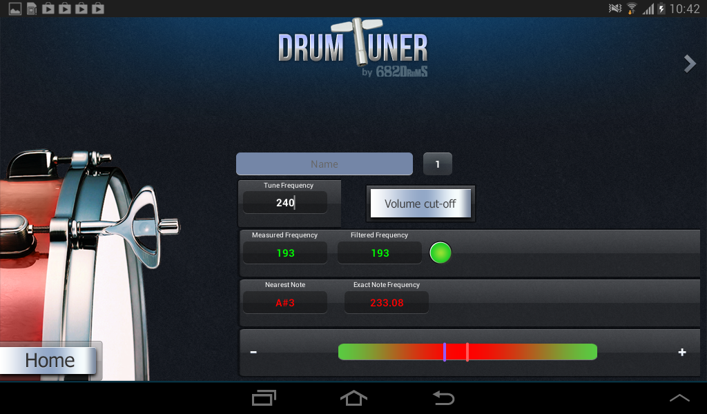 DRUM-TUNER - screenshot