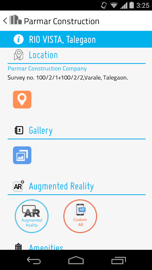 Parmar Construction- screenshot