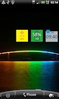 Screenshot of Battery widget