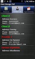 Screenshot of Client Manager Ad Free