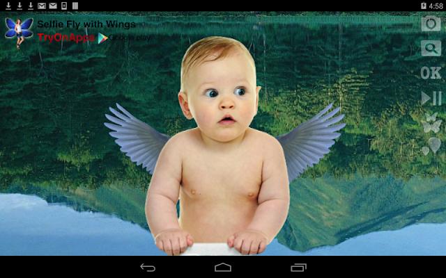 Selfie Fly to the Sky w Wings - screenshot