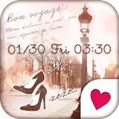 Cute wallpaper★Lovers Paris