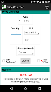 Price Cruncher - Price Compare screenshot 4