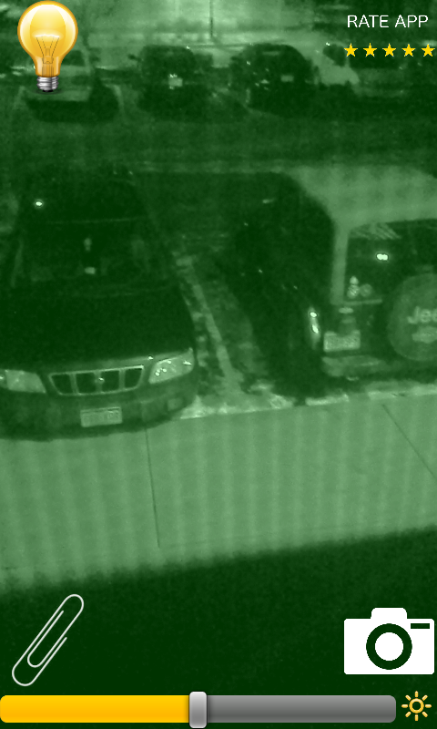 Night Vision Spy Camera Hunter - screenshot
