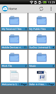 SurDoc – 100GB+ FREE storage - screenshot thumbnail