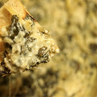 Spinach, Artichoke, and Kale Dip