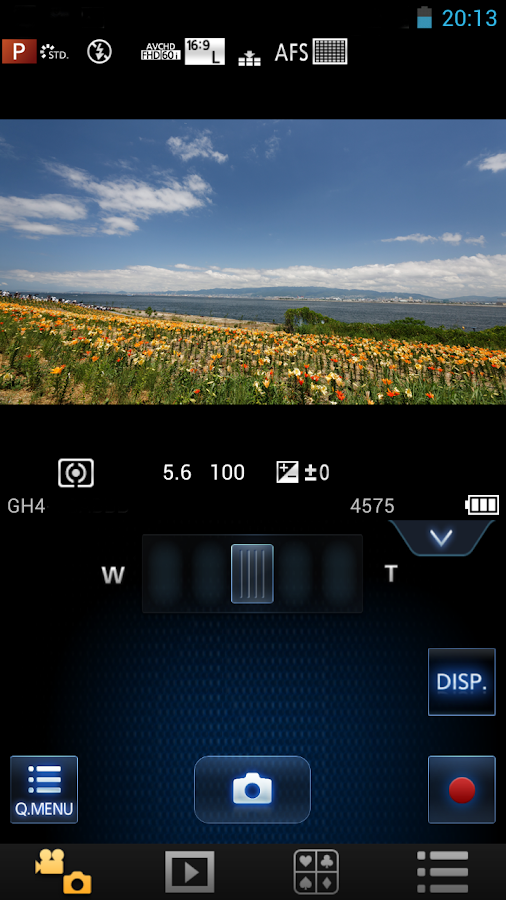 Panasonic Image App - screenshot
