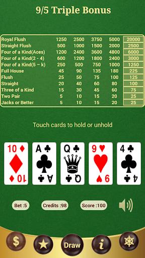 9 5 Triple Bonus Poker