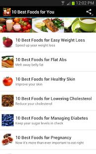 10您的最佳食品