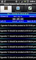 Screenshot of Smoker Reducer Quit Smoking