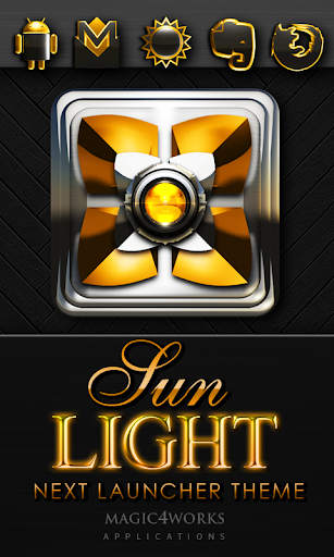 Next Launcher Theme Sunlight