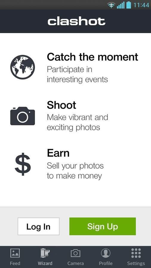 Clashot: Take pics, make money - screenshot