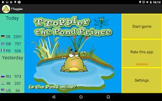 Screenshot of Jumping Frog The Pond Prince 2