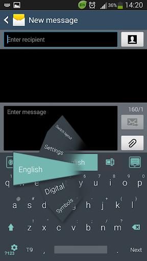 GO键盘的Android平板