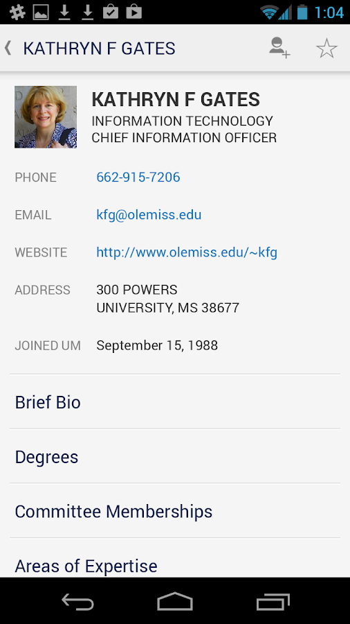 The Official Ole Miss App – snimka zaslona