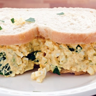 Egg And Cress Sandwiches.