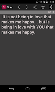 Love sms and quotes - screenshot thumbnail