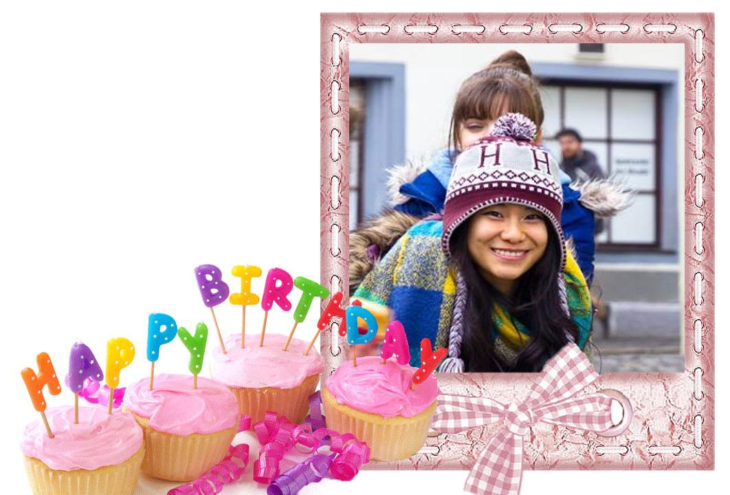birthday photo editor frames screenshot