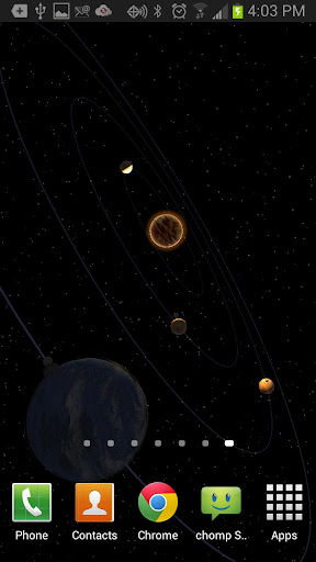 Planets HD Free Live Wallpaper