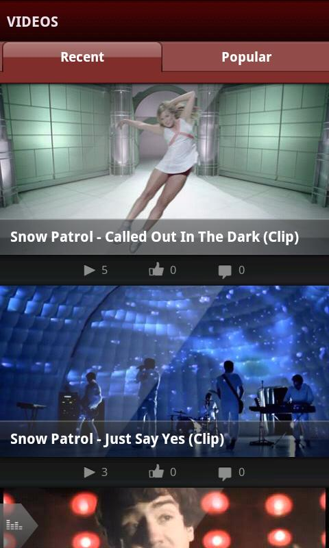 Snow Patrol - screenshot