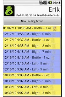 Breast Feeding Tabulator: Free- screenshot thumbnail