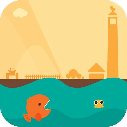 魚和海浪鎖屏 個人化 App LOGO-硬是要APP