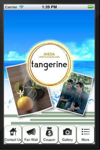 Tangerine Aveda Salon