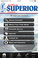 Screenshot of Red McCombs Superior Hyundai