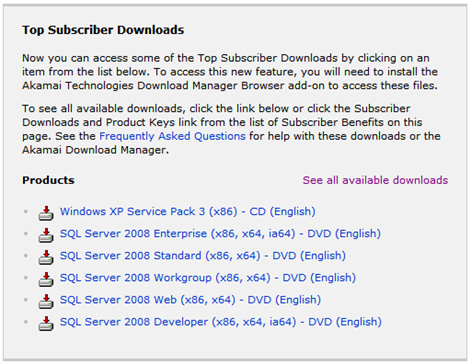 SQL Server 2008 RTM's (and is now available on MSDN