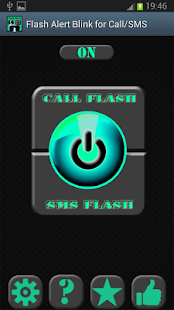 Flash Alert Blink For Call/SMS - screenshot thumbnail