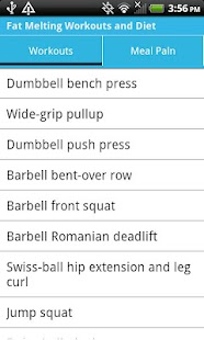 Fat Melting Workouts & Diet - screenshot thumbnail