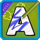 Alphabet Paint for Kids Full icon