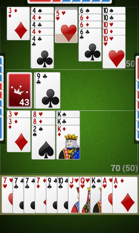 how to play canasta with 2 people