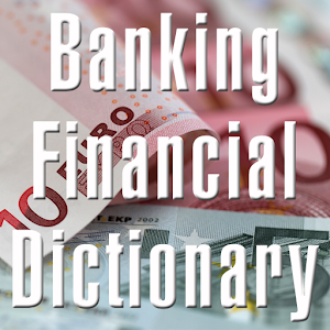 Banking Financial Dictionary LOGO-APP點子