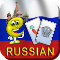 Russian Flashcards for Kids icon