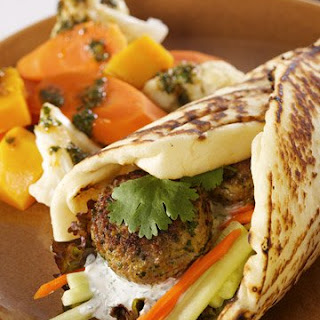 Indian Spiced Lamb Wraps Recipe