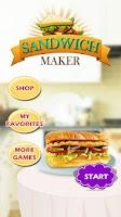 Screenshot of Sandwich Maker