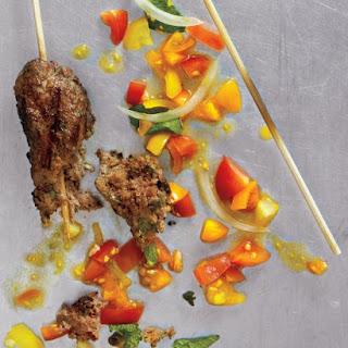 Garlic-Chipotle Beef Kebabs