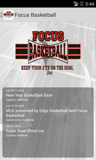 Focus Basketball
