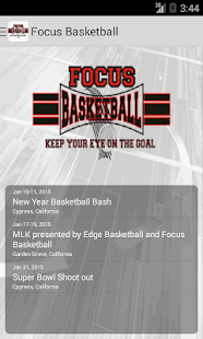Focus Basketball- screenshot thumbnail